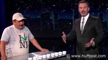 Kimmel Trolls Entire State Of New Jersey With A Loving Tribute To Legal Weed
