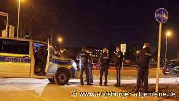 Hubschrauber im Einsatz: Großeinsatz nach Messerstich im Reese-Park - Augsburger Allgemeine