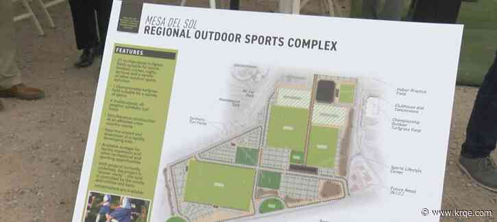 Bernalillo Co. to sign agreement with city to help pay for soccer facility