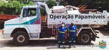 Operação Papamóveis evita descarte de entulhos nas ruas de Bom Jardim - Serra News
