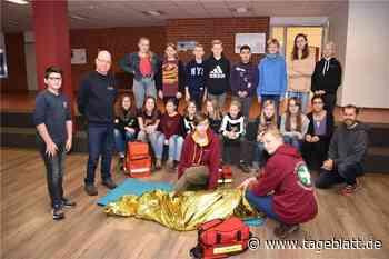 Oberschule in Jork setzt auf Schulsanitäter - Jork - Tageblatt-online