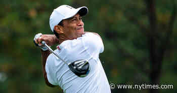 Tiger Woods Is Injured in a Serious Car Accident