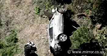 'No evidence of impairment' say authorities as Tiger Woods lucky to be alive