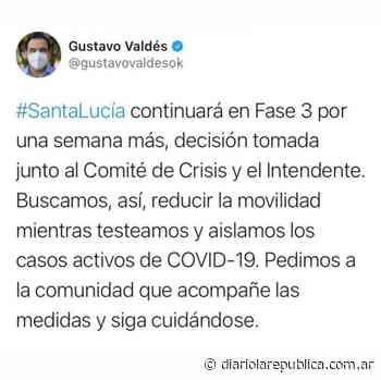 Santa Lucía seguirá en Fase 3 una semana más - Diario La República