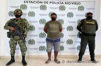 Capturado integrante del GAO Clan del Golfo, en Río Viejo, sur de Bolívar - Diario La Libertad