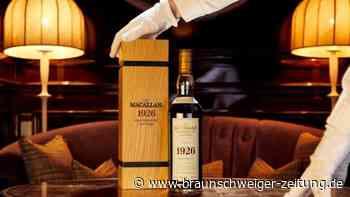 Kein Weltrekord: Whisky für eine Million Pfund versteigert