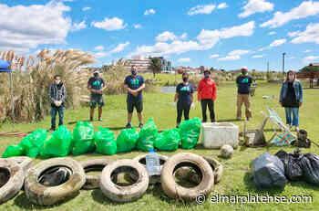 Encuentran residuos de todo tipo en las lagunas de Punta Mogotes - El Marplatense