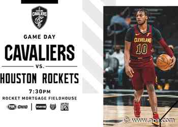 Cavs vs Rockets | Rocket Mortgage Game Preview