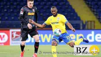 Oumar Diakhite sorgt für Stimmung bei Eintracht Braunschweig