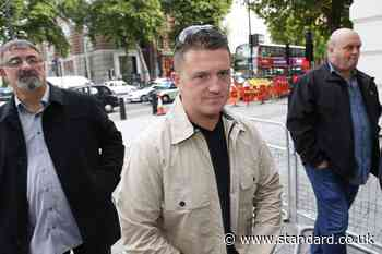 Tommy Robinson 'lied to police about harassment threat'