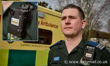 Paramedics start wearing bodycams for the first time after a rise in attacks in London
