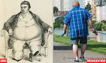 When Britain's fattest man weighed a modest 50 STONE