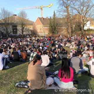 Live - Stadspark Leuven ontruimd wegens grote drukte: 'Pandemie is nog niet voorbij'