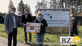 """Elisabethstift erhält 10.000 Euro von """"Wir helfen Kindern"""""""