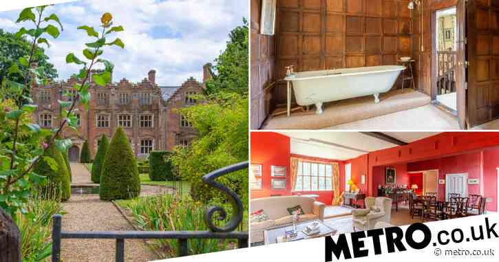 Seven-bedroom country manor on sale for £2 million