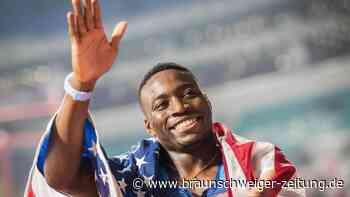 Weltmeister: Grant Holloway verbessert 27 Jahren alten Hürden-Weltrekord