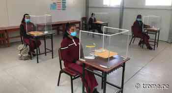 Arequipa: San Cristóbal, el colegio que reanudó sus clases presenciales durante la pandemia del COVID - Diario Trome