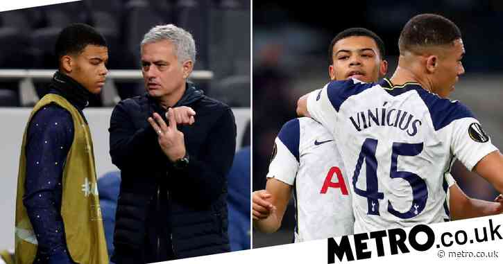 Jose Mourinho compares 16-year-old Spurs wonderkid Dane Scarlett to Manchester United star Marcus Rashford