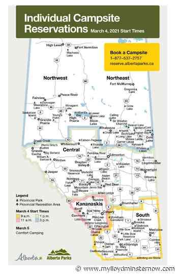 Alberta Parks opening campsite bookings in two weeks - My Lloydminster Now