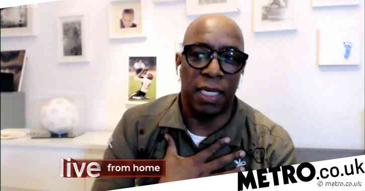 Emotional Ian Wright has viewers in tears as he remembers inspiring teacher who changed his life