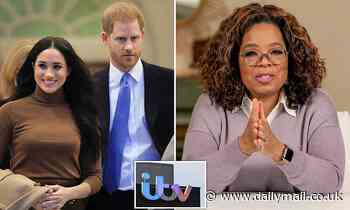 Bidding war breaks out over rights to air Oprah's Harry and Meghan interview in the UK