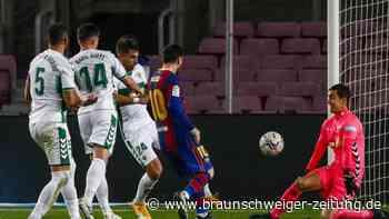 Primera División: Barcelona besiegt FC Elche - Messi mit Doppelpack