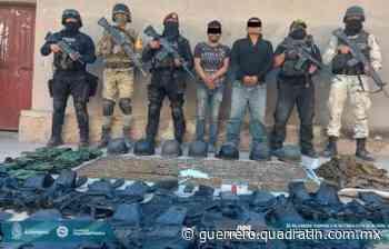 Caen 2 con camioneta robada, droga y cartuchos en Huitzuco - Quadratin Guerrero