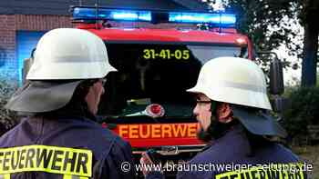 Abluftrohr fängt in Schöppenstedter Chemiefabrik Feuer