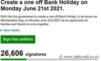 Thousands sign petition for an 'end to Covid-19' bank holiday