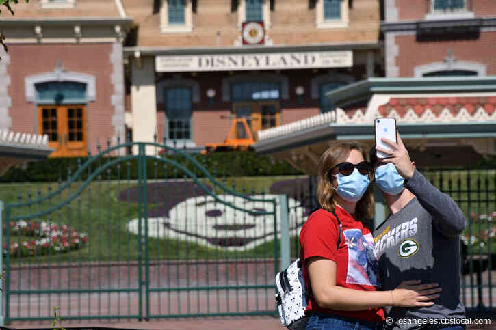LA County Supports Less Strict Threshold For Disneyland, Other Theme Parks To Reopen