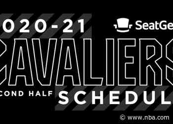 Cavaliers Announce Second Half of 2020-21 NBA Regular Season Schedule Presented by SeatGeek