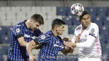 Champions League: Real müht sich in Überzahl zu 1:0 in Bergamo