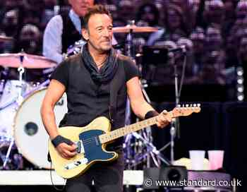 Bruce Springsteen fined £350 for drinking tequila on New Jersey beach as drink driving charges dropped