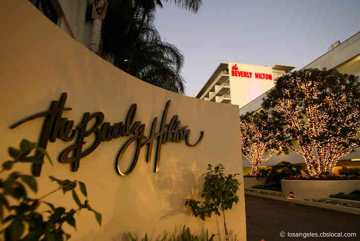 Road Closures Begin Near Beverly Hilton Ahead Of This Weekend's Golden Globe Awards