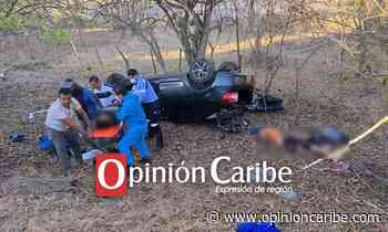 Grave accidente entre la vía Bosconia – Santa Marta - Opinion Caribe