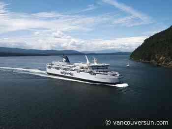 Police issue over $900 in tickets to two B.C. Ferries passengers for not wearing masks