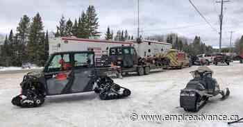 Lac du Bonnet RCMP look for missing snowmobiler - Virden Empire Advance