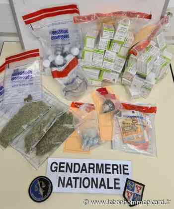 Montdidier : Sept interpellations, un trafic de drogue démantelé - Le Bonhomme Picard
