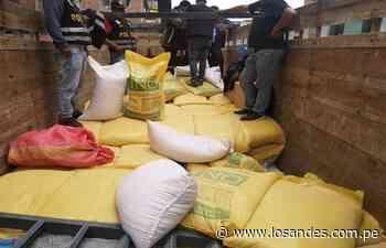Contrabando por S/17 mil en Ilave – Los Andes - Los Andes Perú