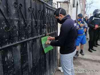 Comisaría clausura dos canchas de vóley en Ambato - La Hora (Ecuador)