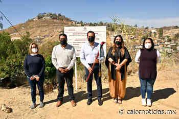 Entrega Ayuntamiento de Oaxaca construcción de drenaje sanitario en Guadalupe Victoria - Calor Noticias
