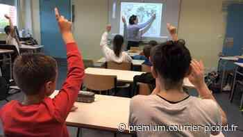 Colère autour des restrictions d'enseignement au collège de Guiscard - Courrier picard