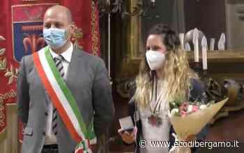 Alzano Lombardo, Michela Moioli premiata per i due argenti al Mondiale - L'Eco di Bergamo