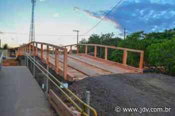 Ponte provisória é liberada ao tráfego em Barra Velha - Jornal do Vale do Itapocu