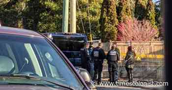 Human remains found at development site on Cordova Bay Road - Times Colonist