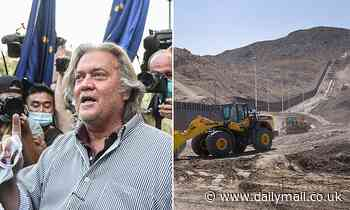 Records from Bannon's $25m crowd-funding efforts to build section of the border wall are subpoenaed
