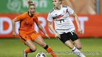 Junges Team zahlt Lehrgeld: DFB-Frauen lernen aus Niederlage gegen Niederlande