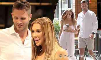 MAFS' Rebecca Zemek andJake Edwards enjoy a coffee date after their TV wedding