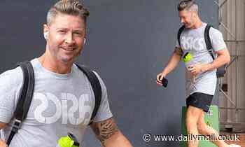 Michael Clarke switches brand allegiance after split with P.E Nation co-founder Pip Edwards