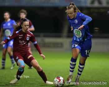 Primeur in Gents vrouwenvoetbal. Wedstrijd KAA Gent Ladies live te bekijken op site De Gentenaar